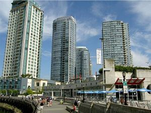 coal harbour waterfront condos vancouver