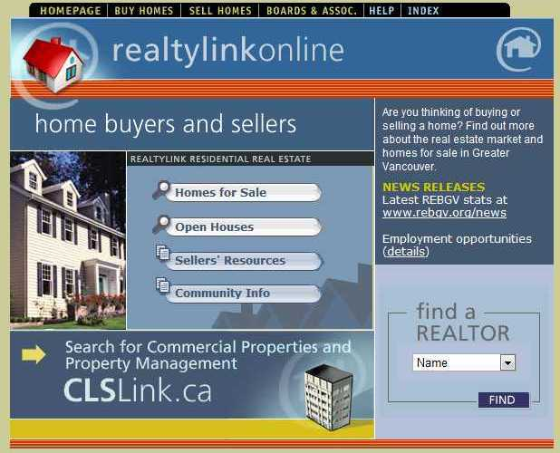 realtylink-online-screenshot