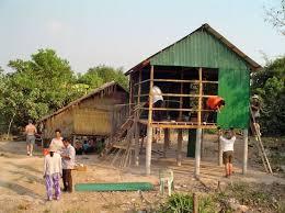 cambodia house build
