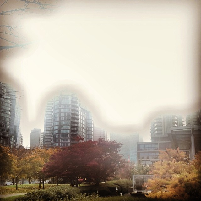 another picture from earlier this week in fogcouver vancouver vanarch coalharbour bestshooter sky buildingstylesgf a