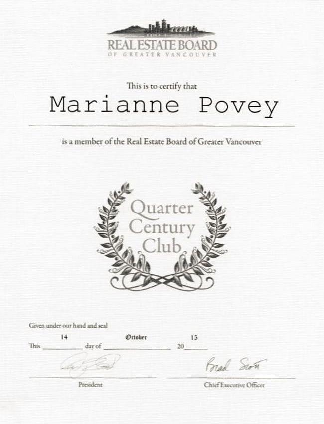 quartercentury a
